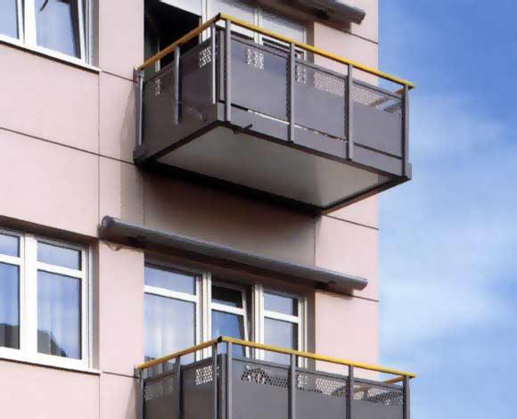 schuco aluminium balkone. Black Bedroom Furniture Sets. Home Design Ideas